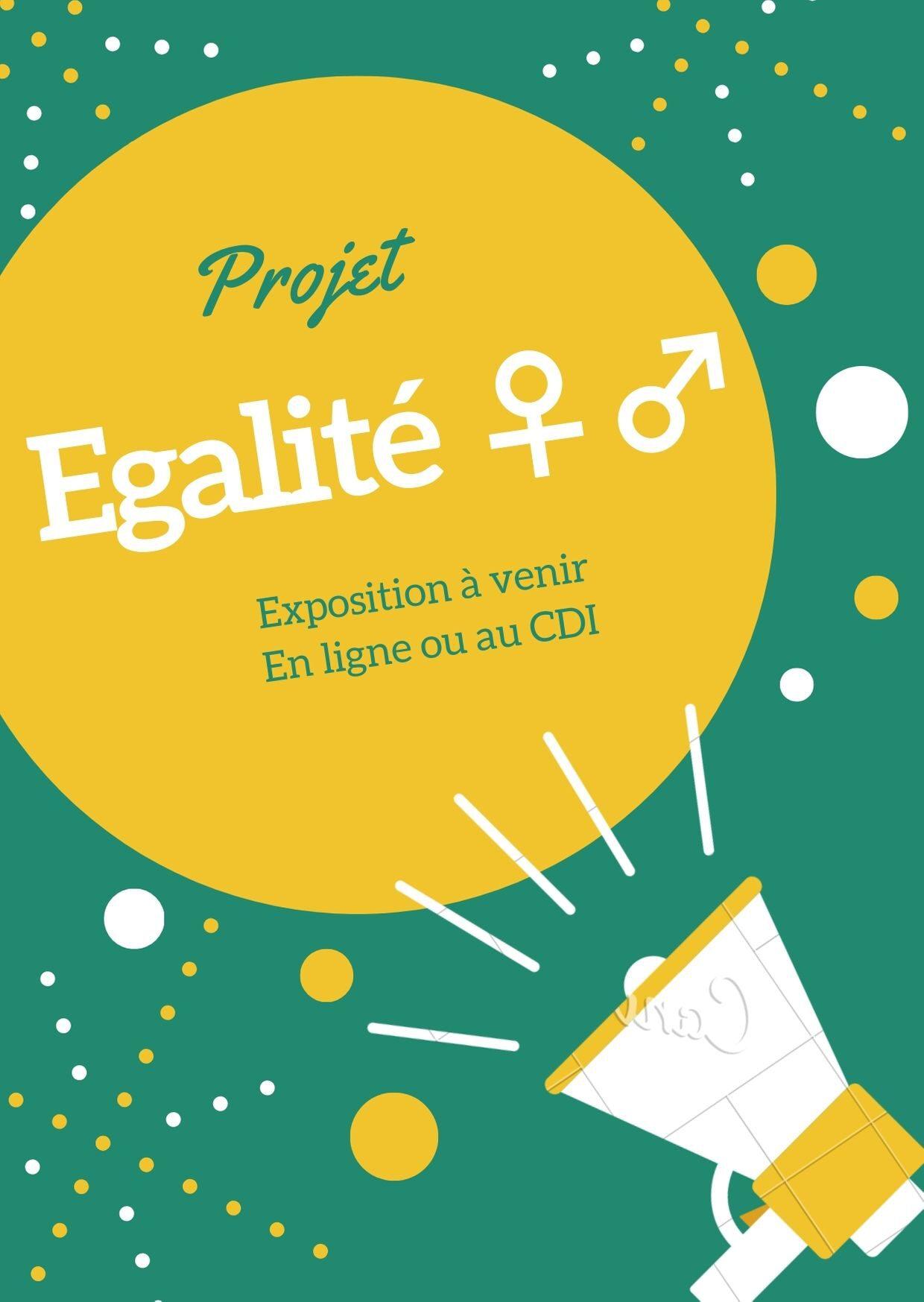 Projet égalité Filles/Garçons